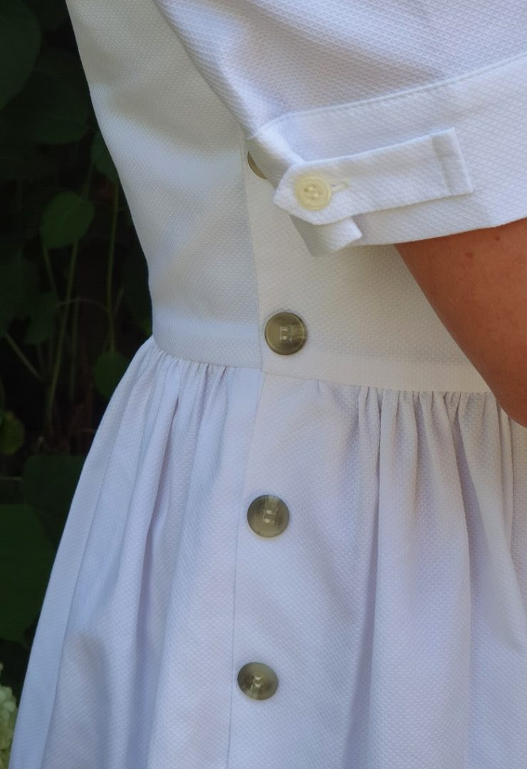 Gaby dress detail